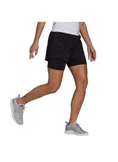adidas W 2In1 Sho Kadın Şort Siyah